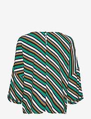 Culture - CUrosalinde Blouse - pitkähihaiset puserot - verdant green - 1