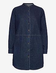 Culture - CUpaola Long Shirt - jeansblouses - blue wash - 1