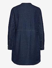 Culture - CUpaola Long Shirt - jeansblouses - blue wash - 2