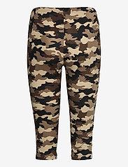 Culture - CUsemira Capri - pantalons capri - brown camouflage - 1