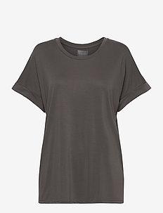 Kajsa T-shirt - t-shirts - blackened pearl