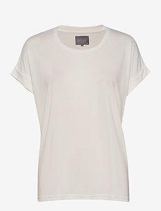 Kajsa T-shirt - koszulki basic - spring gardenia wash