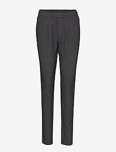 Sarah Pant - spodnie na co dzień - grey melange