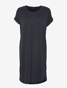 Kajsa T-Shirt Dress - do kolan & midi sukienki - salute