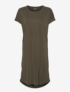 Kajsa T-Shirt Dress - t-shirtkjoler - sea turtle