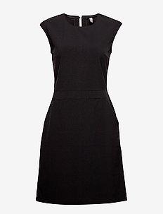 CUariane Dress - krótkie sukienki - black