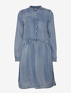CUpaola Dress - LIGHT BLUE WASH