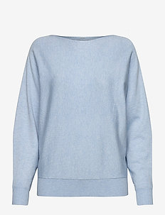 CUannemarie Batwing Jumper - swetry - cashmere blue mel.
