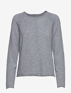 CUalaia Cardigan - LIGHT GREY MELANGE