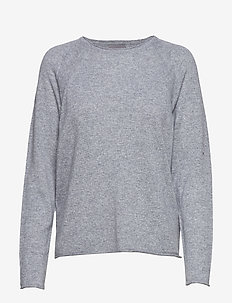 CUalaia Pullover - kaszmir - light grey melange