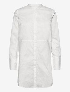 CUantoniett Long Shirt - langermede skjorter - spring gardenia