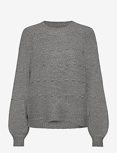 CUmina Pullover - gensere - grey melange