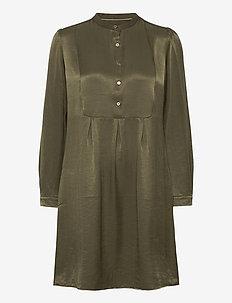 CUcornelia Dress - skjortekjoler - olive night