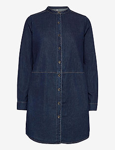 CUpaola Long Shirt - jeansblouses - blue wash