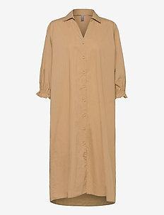 CUolena Dress - blousejurken - tannin