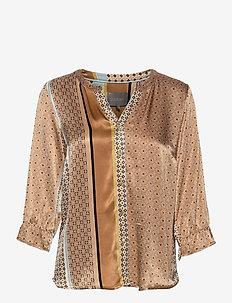 CUfiluka Shirt - blouses met lange mouwen - brown sugar