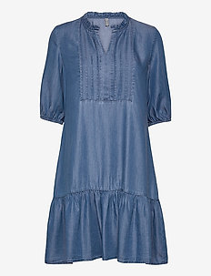 CUmindy Dress - everyday dresses - dark blue wash