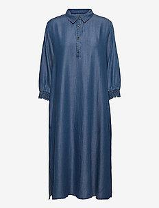 CUmindy Dress - robes d'été - light blue wash