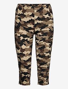CUsemira Capri - pantalons capri - brown camouflage