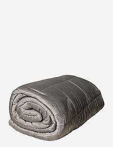 CURA Minky Grey 140x200cm - sprei - grey