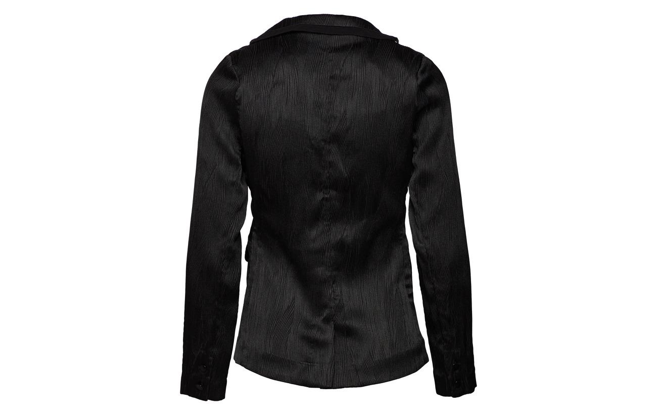 Anthracite Soie Custommade 100 Black Détails Intérieure Viscose Polyester Narine Doublure Équipement TOwpO5