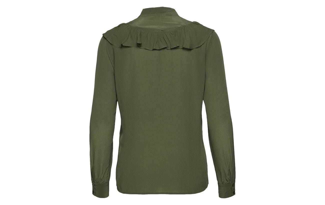 Équipement Green Détails Kombu Viscose 100 Soie Ericka bordure Custommade ESPq0x