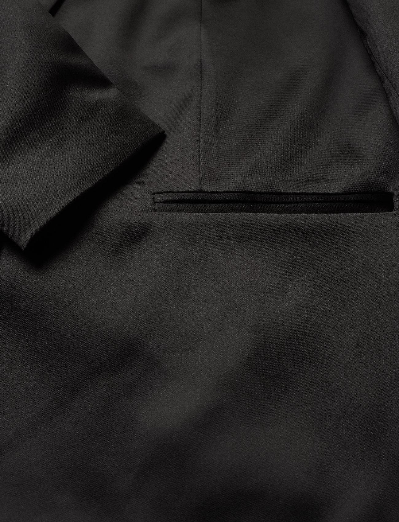 Custommade Hedvig - Blezery ANTHRACITE BLACK - Kobiety Odzież.