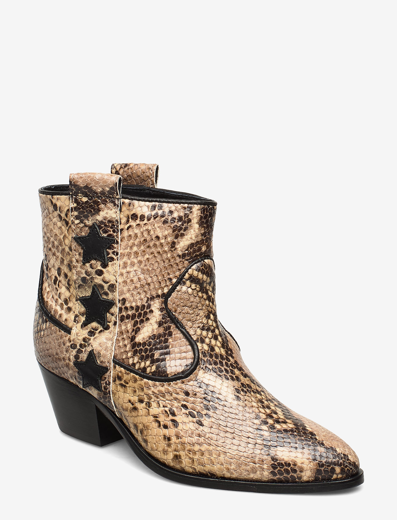 Custommade - Amie - ankle boots with heel - vanilla - 0
