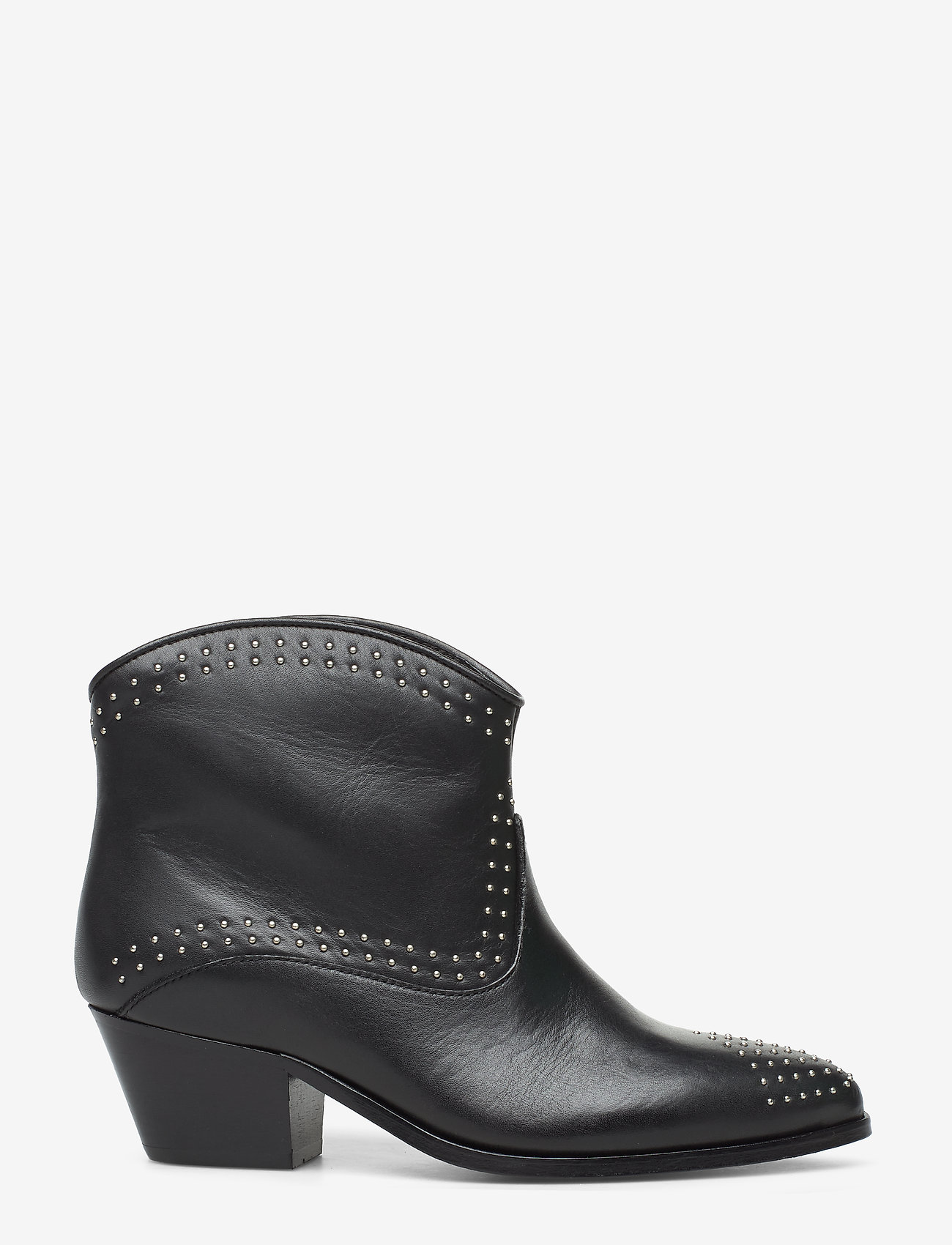 Custommade - Angel Studs - ankle boots with heel - anthracite black - 1