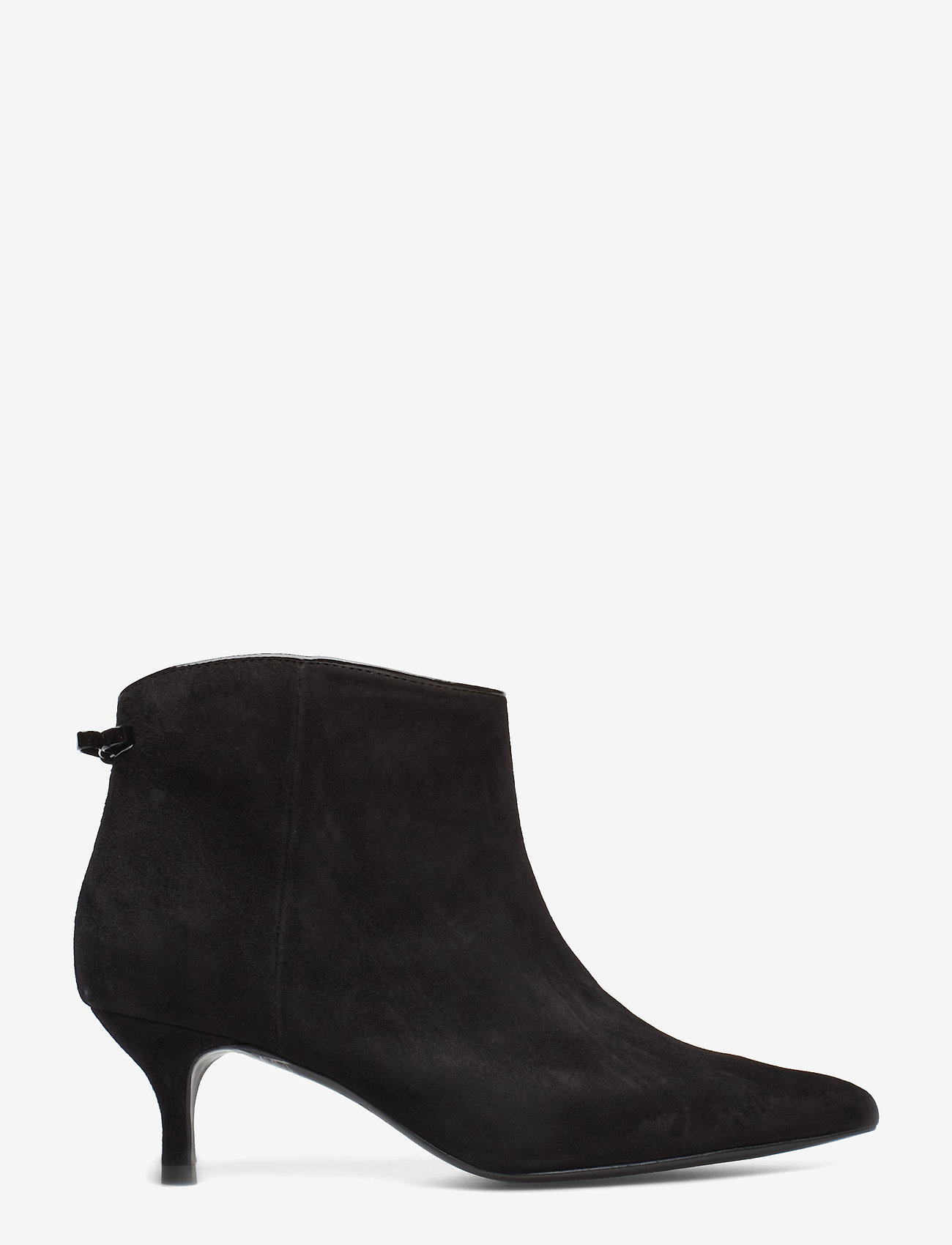 Custommade - Casie Suede - ankle boots with heel - anthracite black - 1
