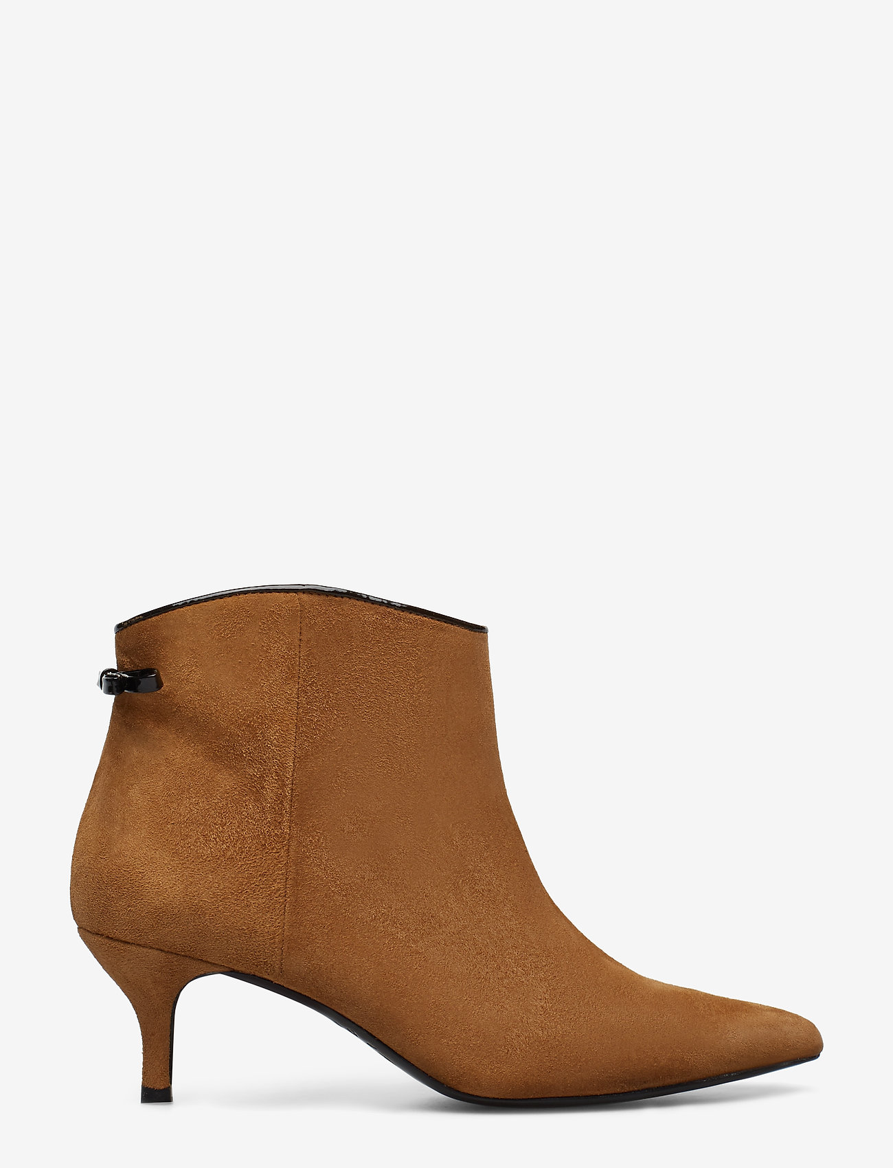 Custommade - Casie Suede - ankle boots with heel - camel - 1