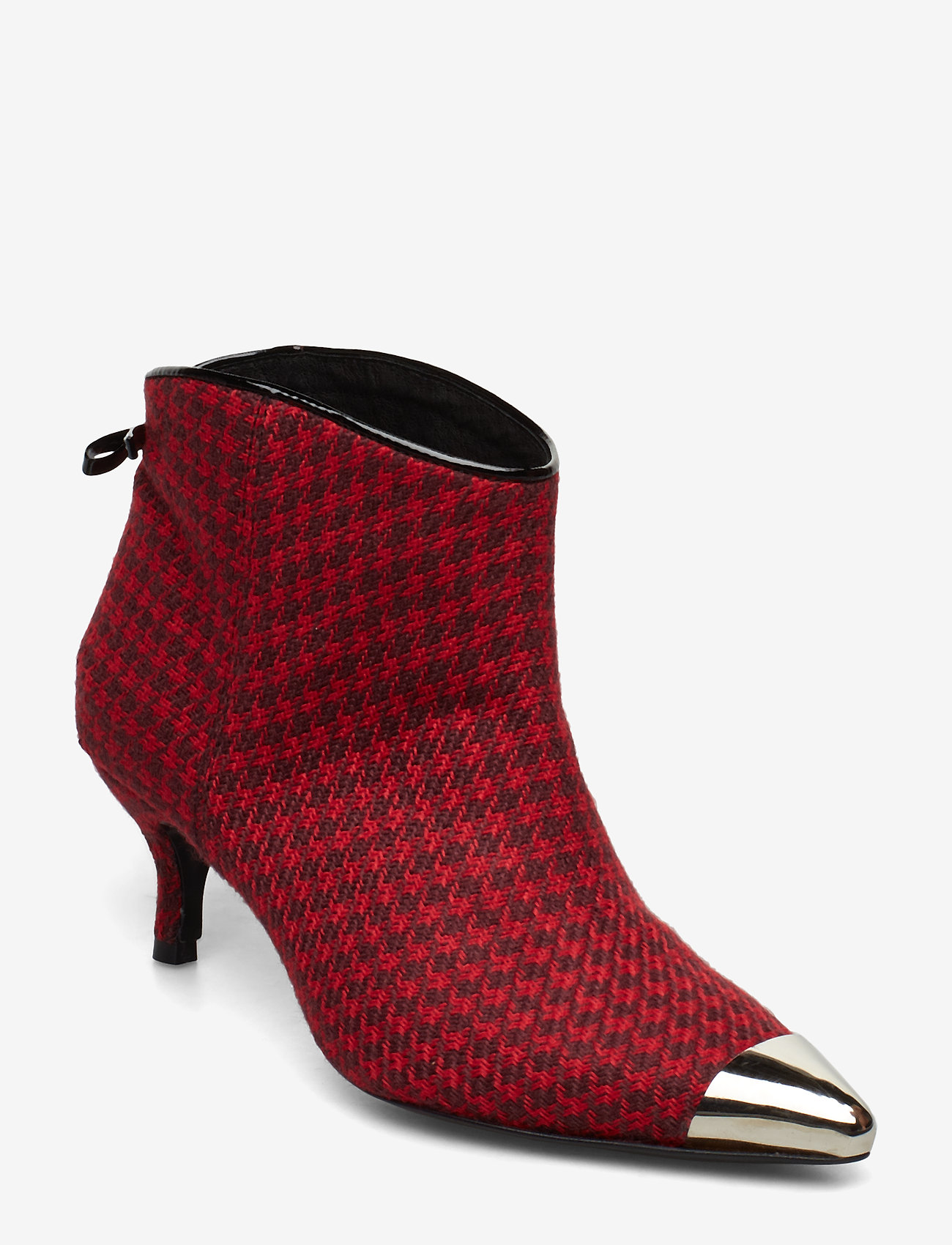 Custommade - Aniv Houndstooth - ankle boots with heel - ski patrol - 0