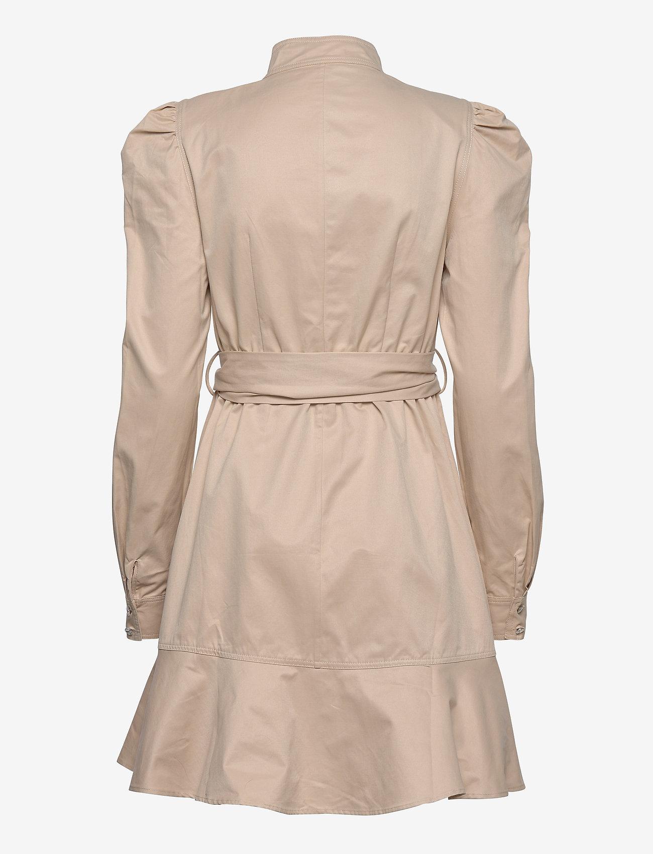 Custommade - Haniel - korta klänningar - cement - 1