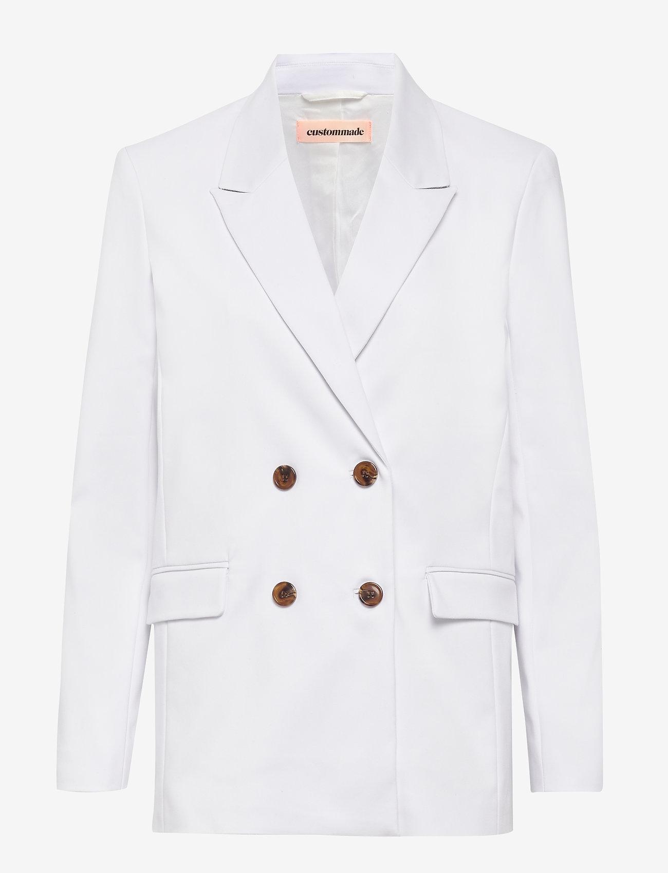 Custommade - Madelin - blazers - white - 0