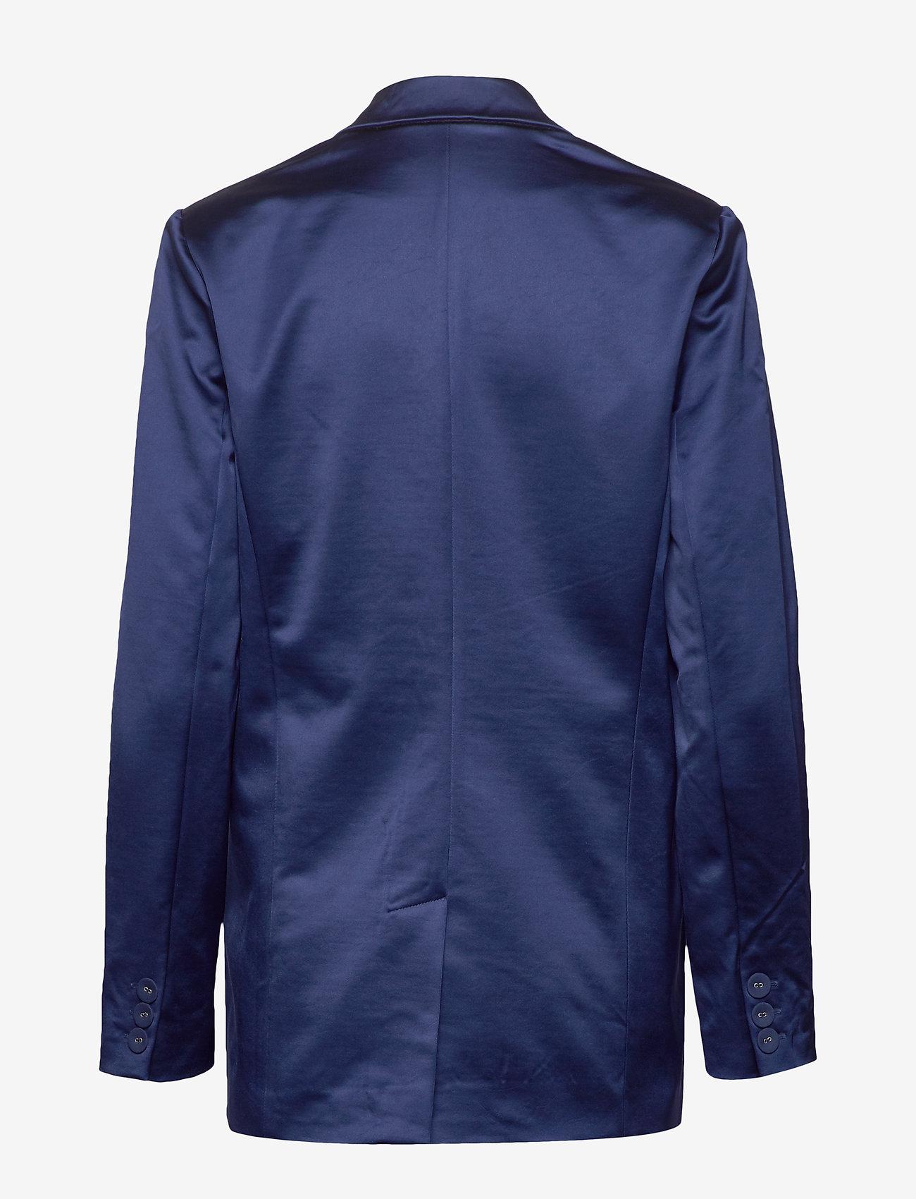 Custommade - Madelin Satin - blazers - estate blue - 1