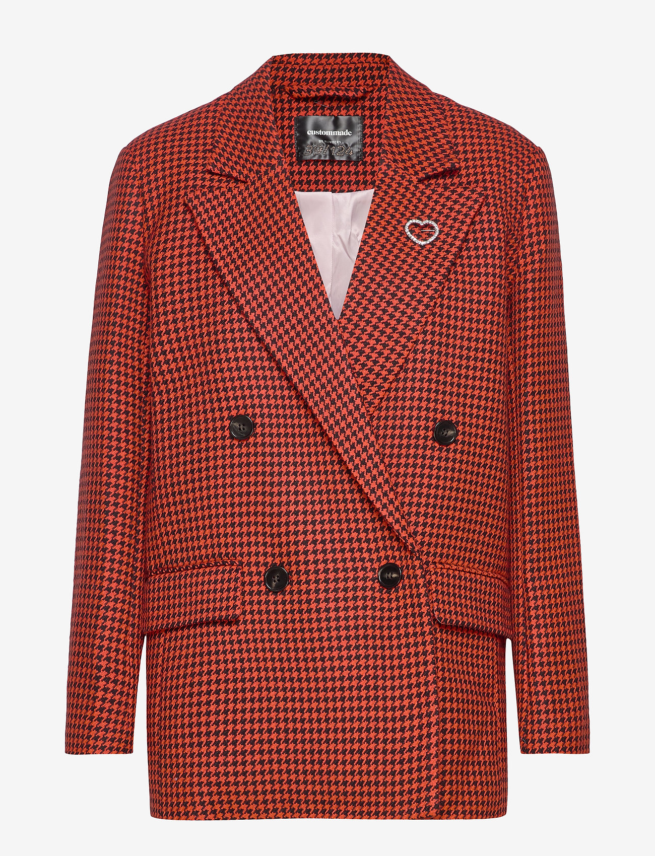 Custommade - Agnes BY NBS - blazers - poppy red - 0