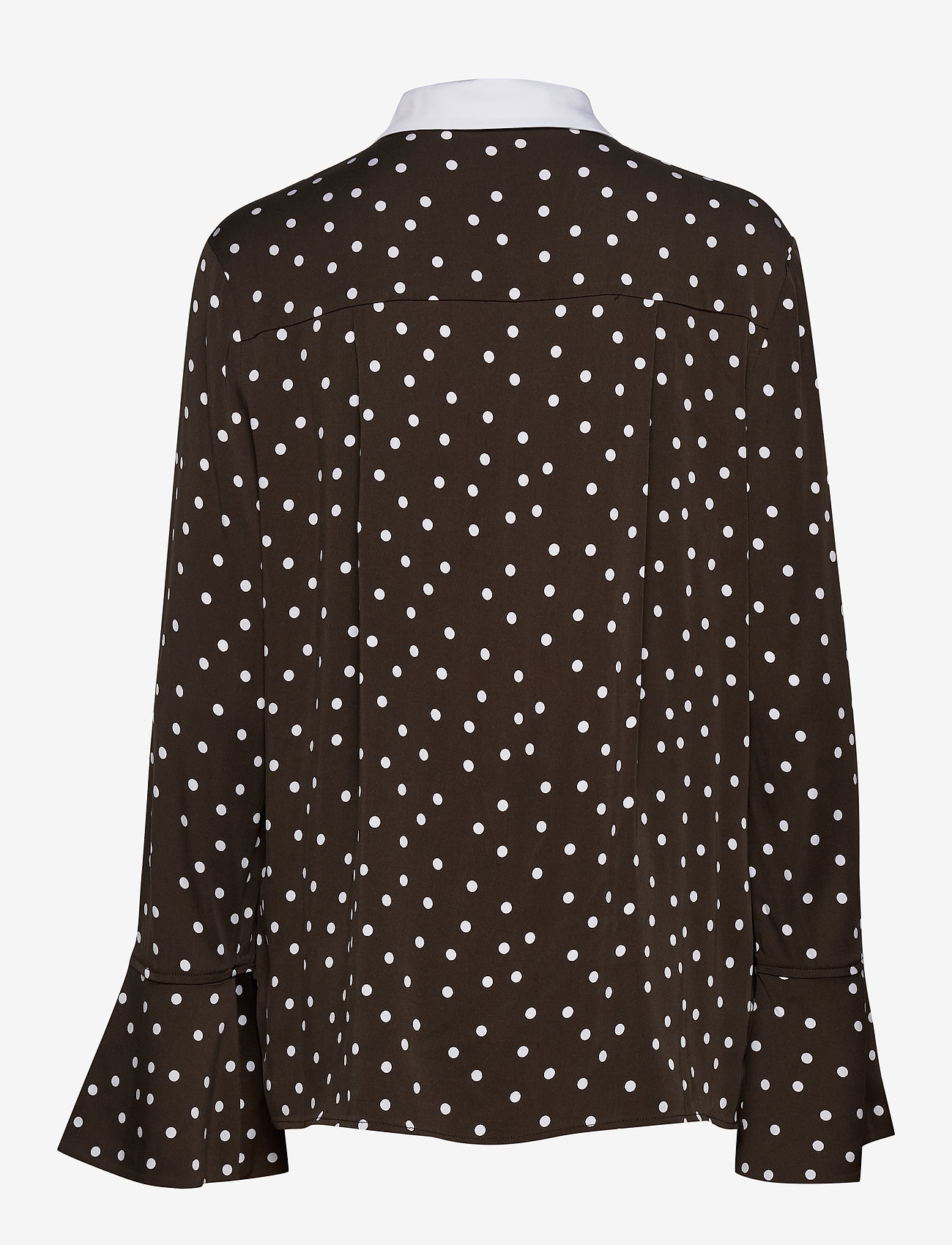 Custommade - Jelis - långärmade skjortor - mole brown - 1
