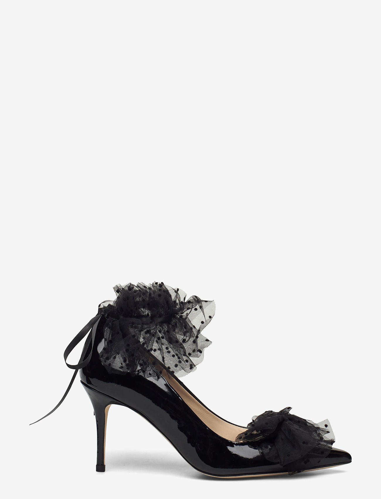 Custommade - Aljo Bow - klassieke pumps - anthracite black - 1
