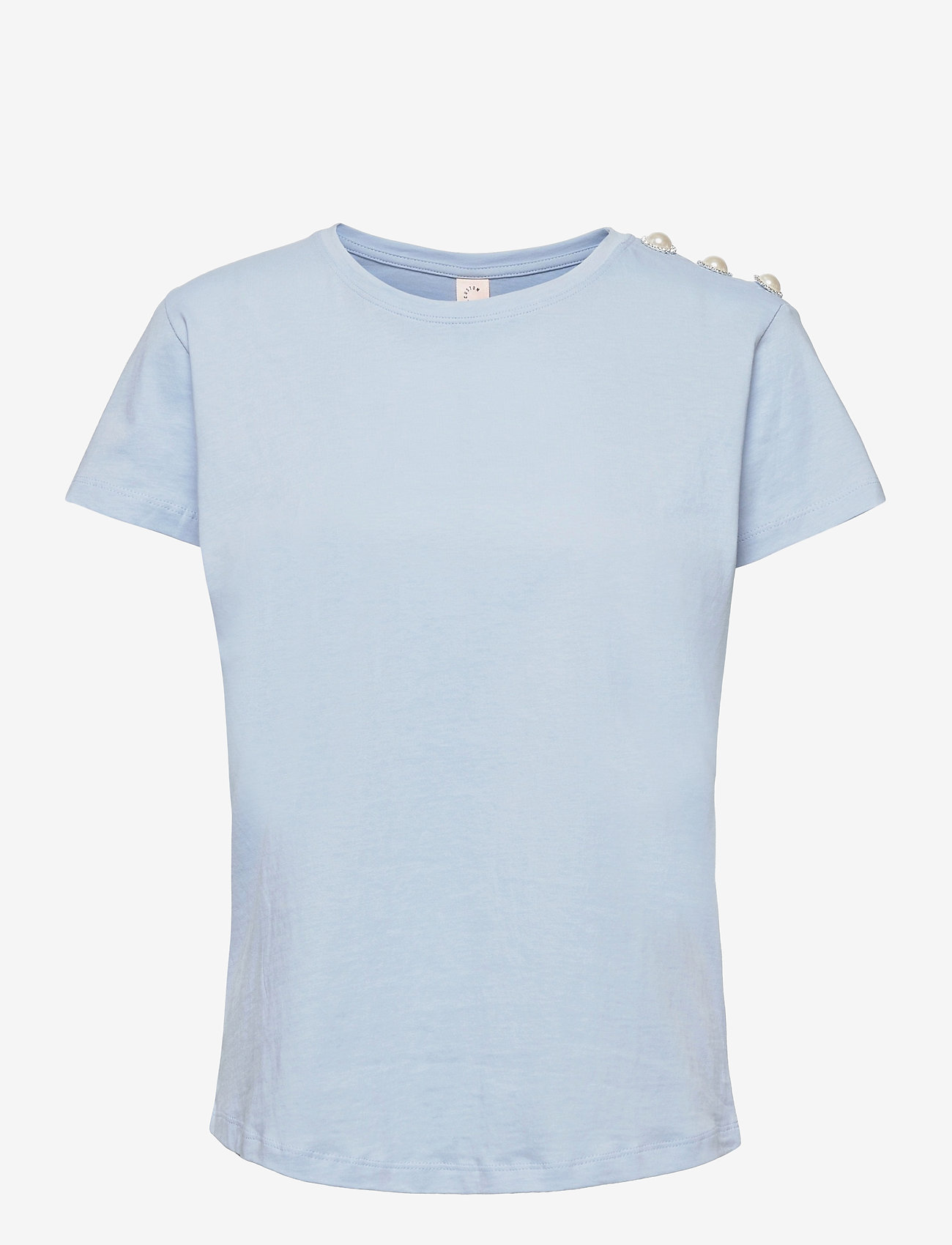 Custommade - Molly Pearl - t-shirts - powder blue - 0