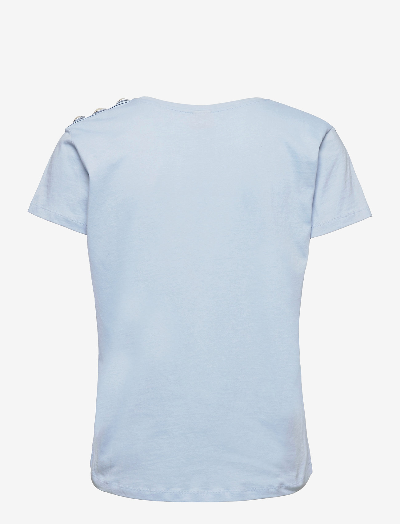 Custommade - Molly Pearl - t-shirts - powder blue - 1