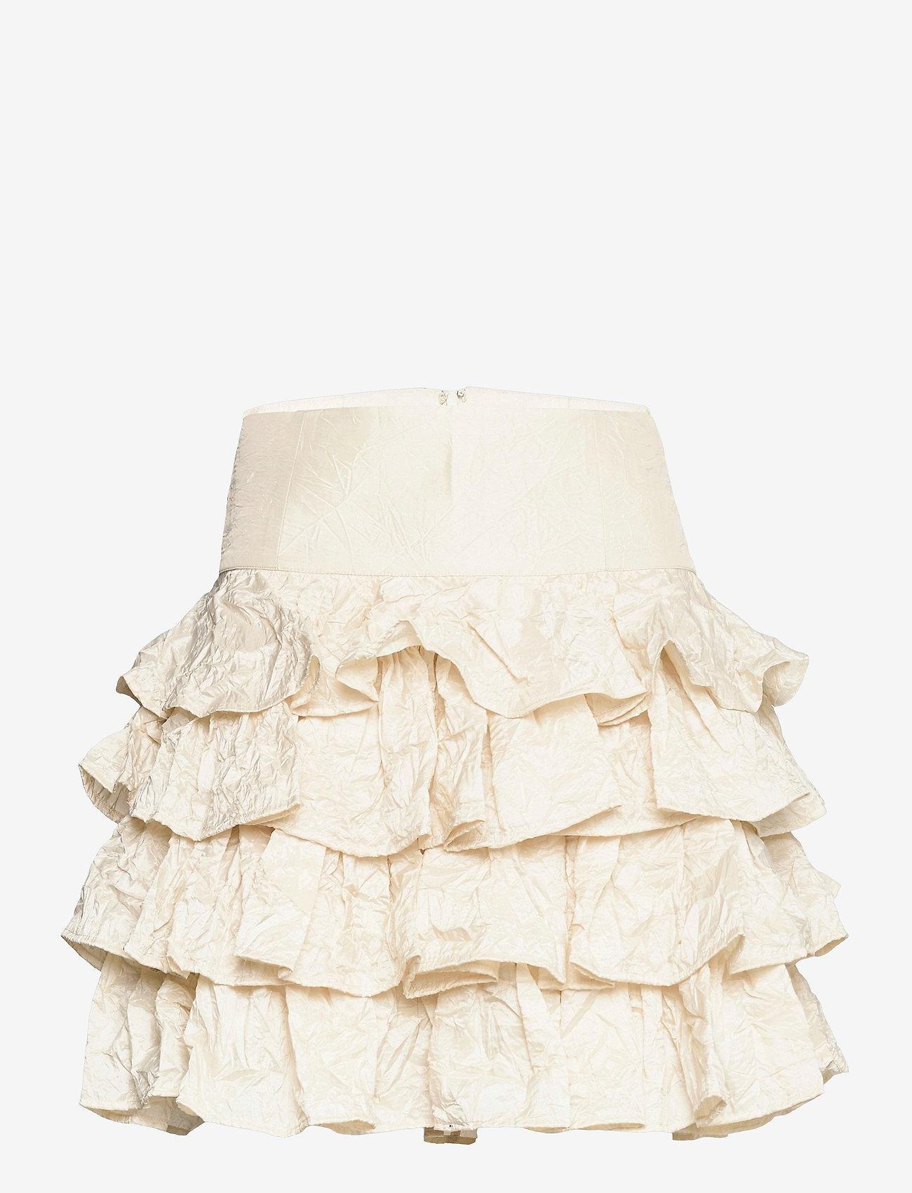 Custommade - Riga - korta kjolar - whisper white - 0