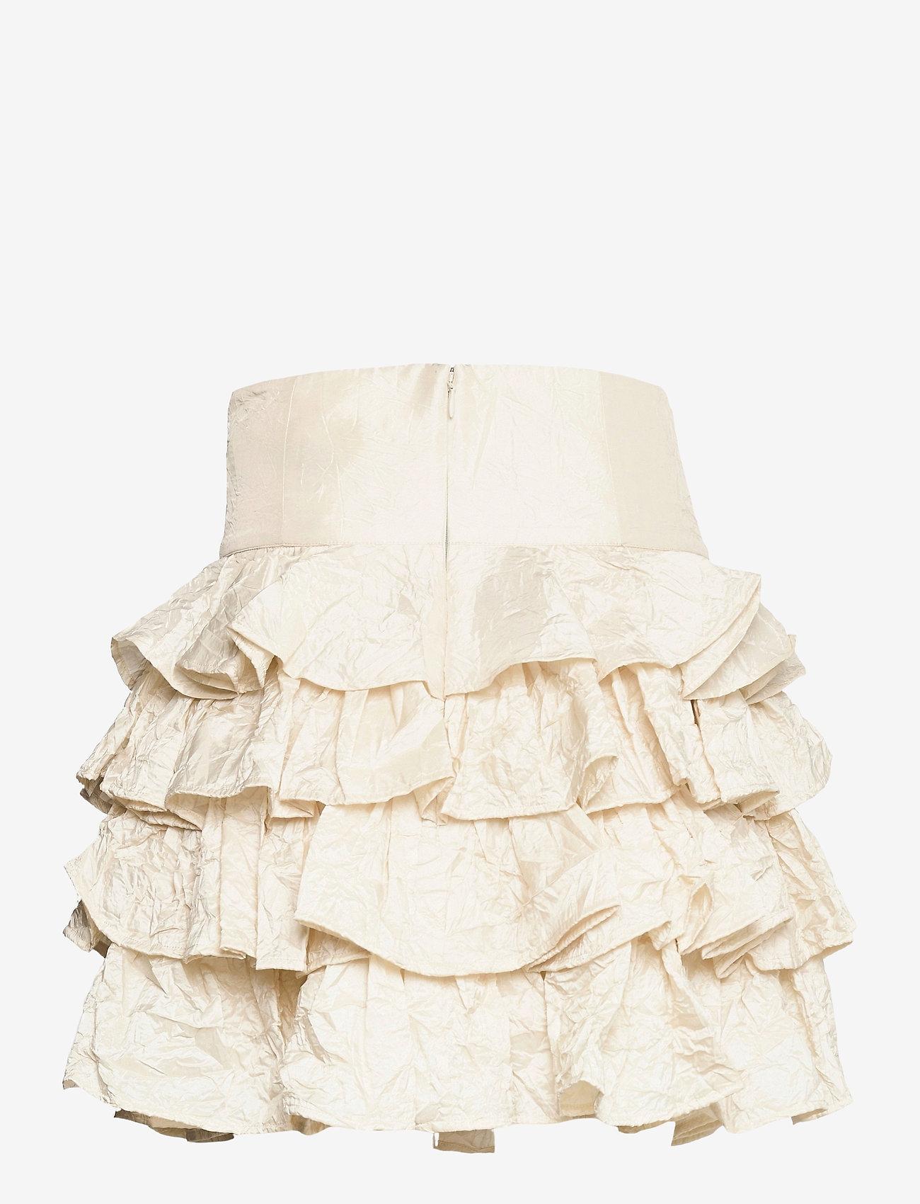 Custommade - Riga - korta kjolar - whisper white - 1