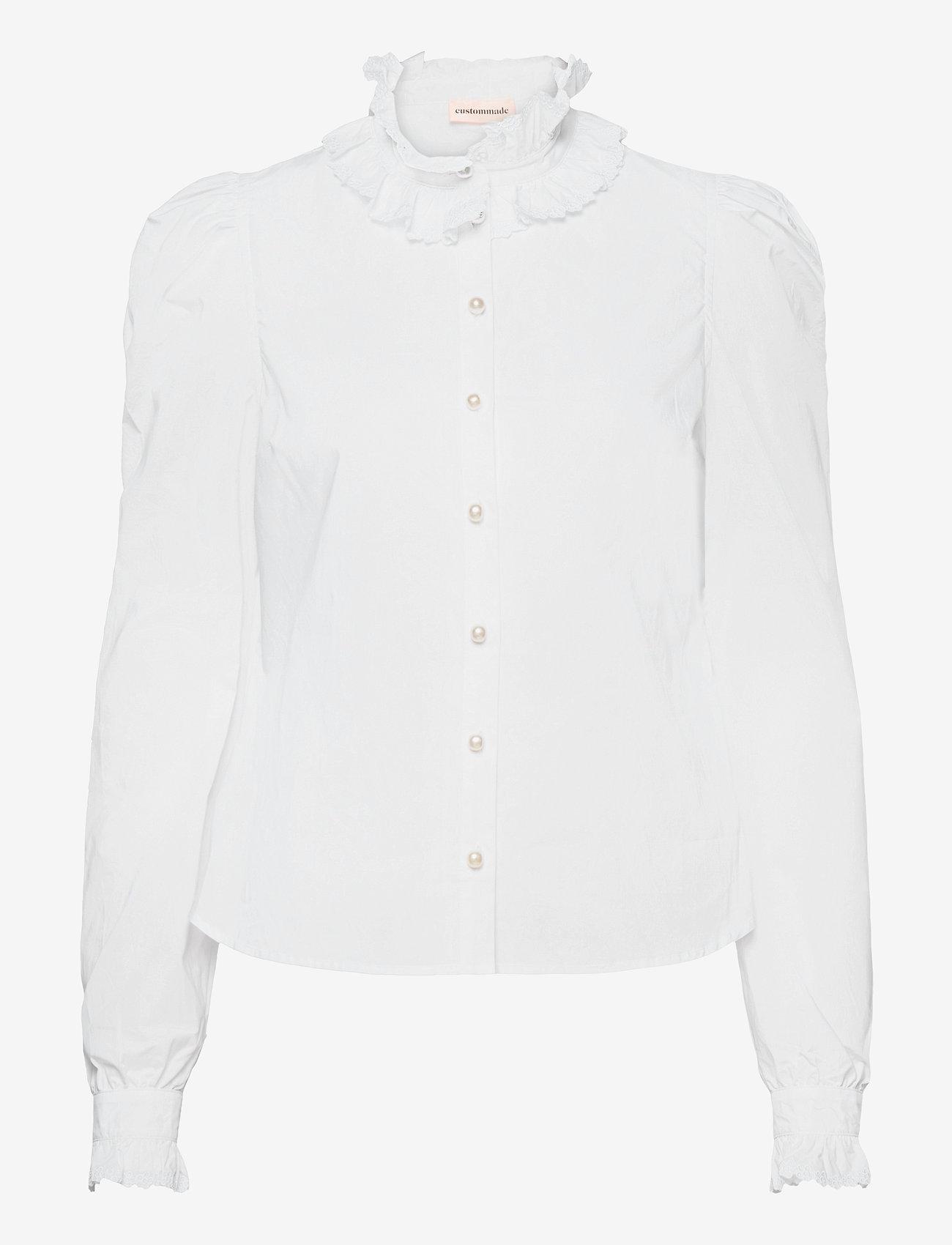 Custommade - Blanca - långärmade blusar - bright white - 0