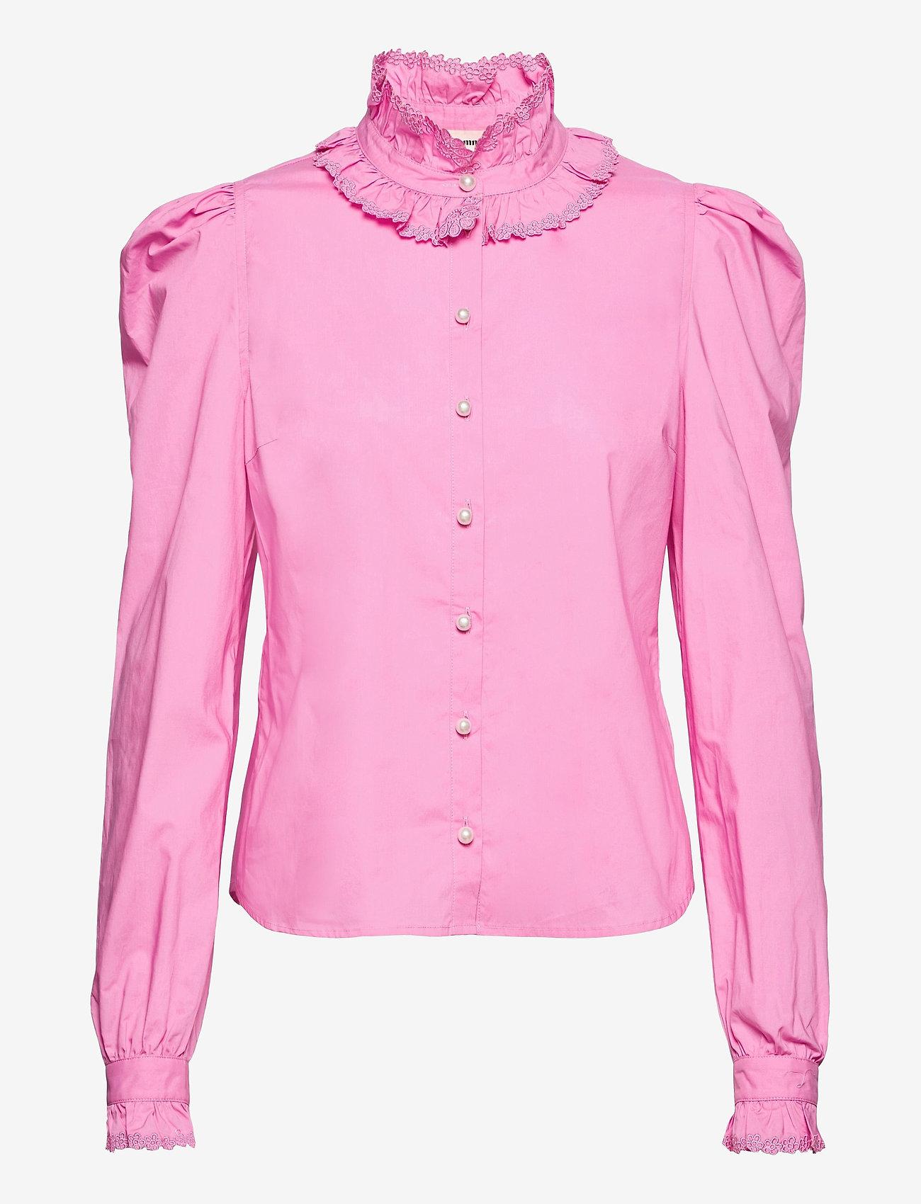 Custommade - Blanca - långärmade blusar - fuchsia pink - 1