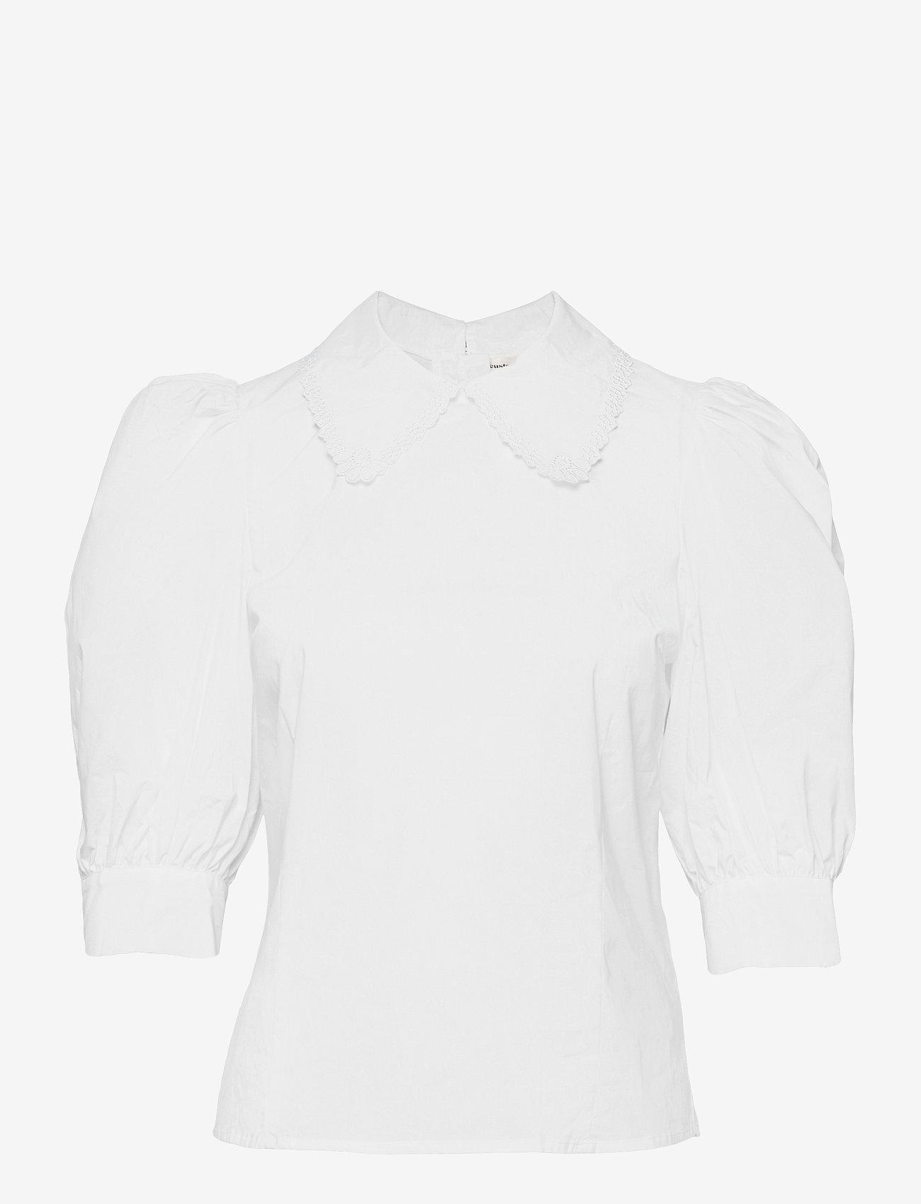 Custommade - Dunya - långärmade blusar - bright white - 0