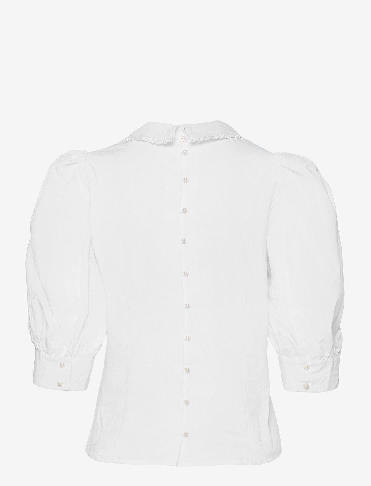 Custommade - Dunya - långärmade blusar - bright white - 1