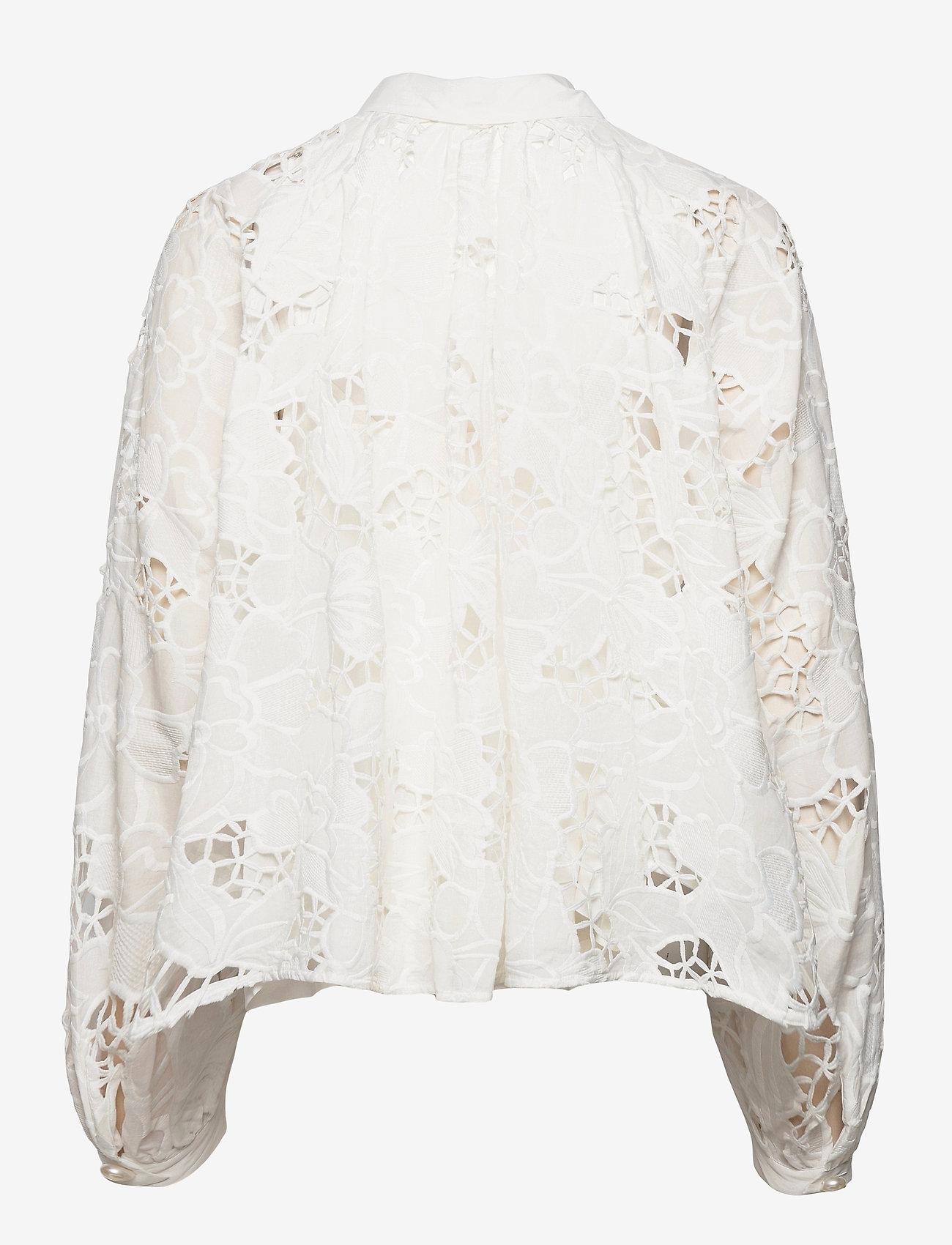 Custommade - Betsy - långärmade skjortor - whisper white - 1