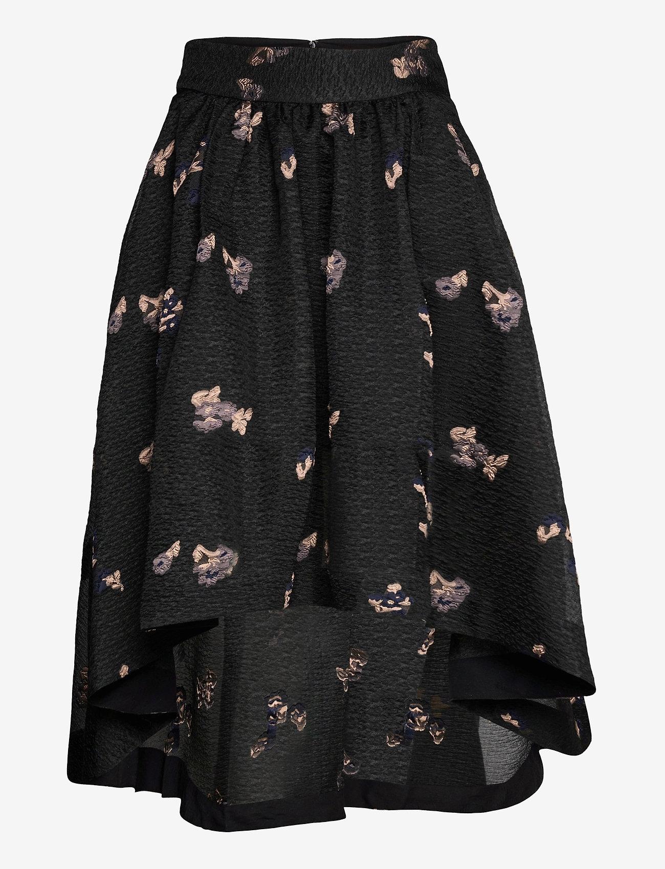 Custommade - Tania - midi kjolar - anthracite black - 0