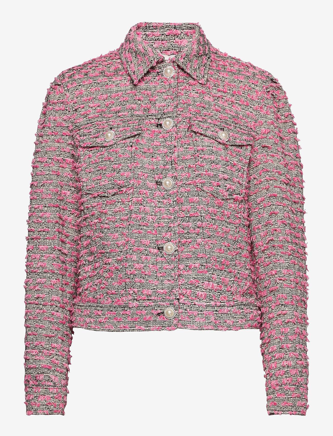 Custommade - Yoel - kläder - black / pink - 0