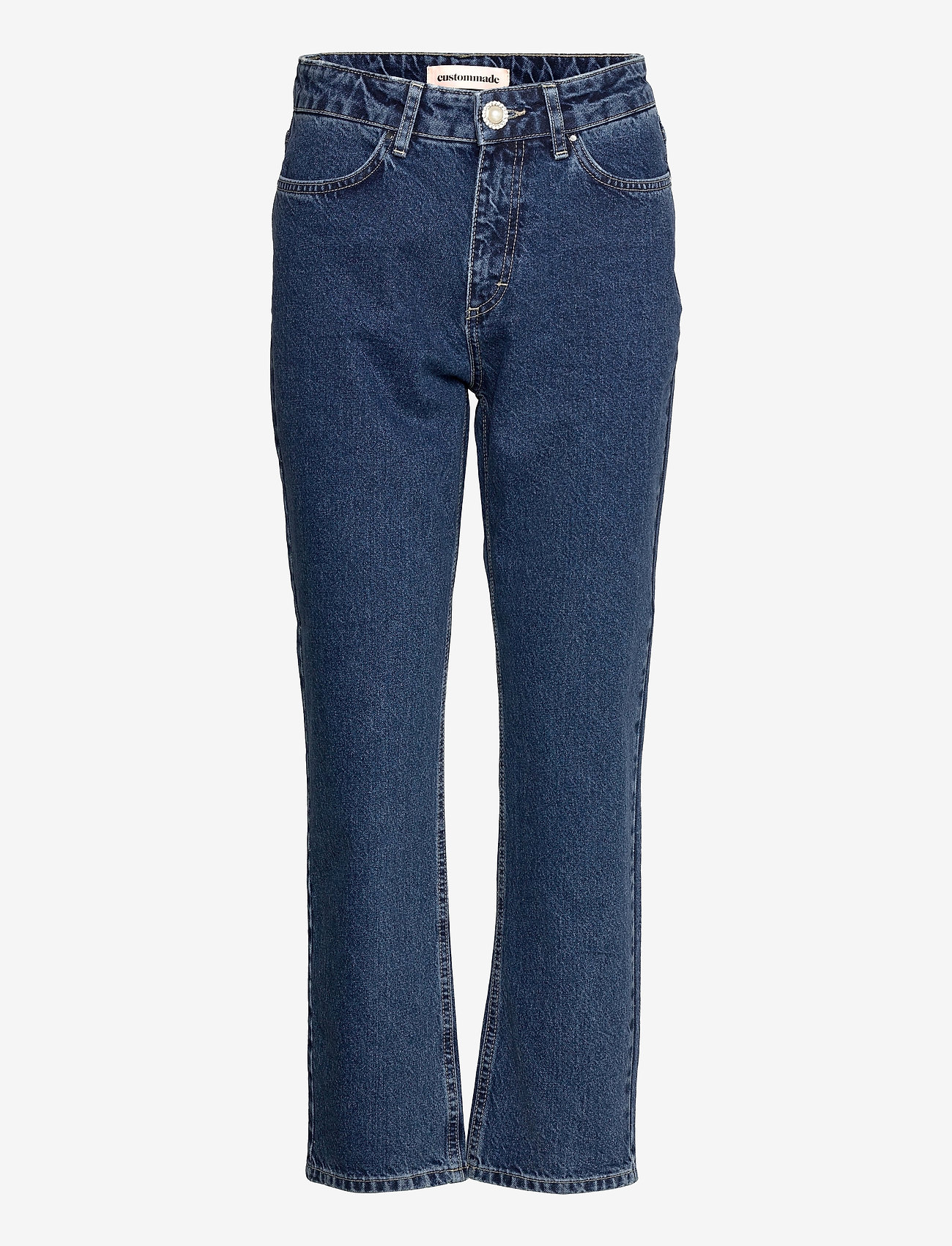 Custommade - Yuki - straight jeans - dark denim - 0